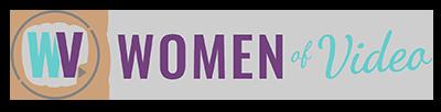 Women Of Video Logo - Rectangular Color Version 400